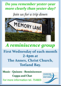 CTWW - Memory Lane @ Christ Church Annexe
