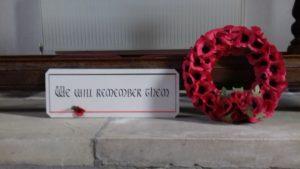 Remembrance Service @ Christ Church Totland Bay