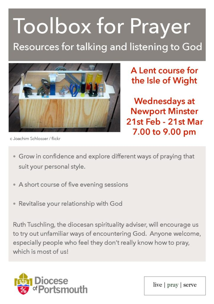 Toolbox for Prayer - a Lent course for the Isle of Wight @ Newport Minster