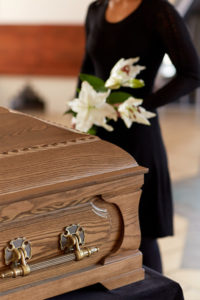Funeral in Church @ Christ Church Totland Bay