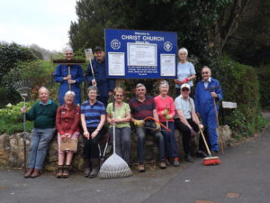 Churchyard / Vicarage Clear-Up Day @ Christ Church Totland