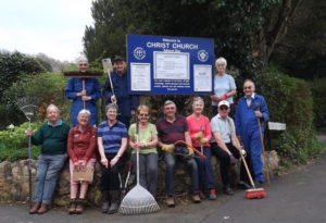 Churchyard Clear-up and Memorial Transcription Workdays (with Refreshments) - 16th and 23rd March 2019 @ Christ Church Churchyard and Annex