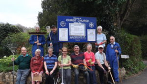 Churchyard Clear-Up Day @ Christ Church Annexe