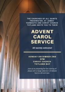Advent Carol Service @ Christ Church Totland Bay