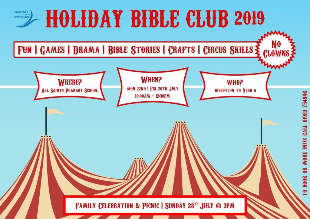 Holiday Bible Club Family Celebration and Picnic @ All Saints School Freshwater