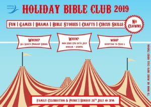 Holiday Bible Club 2019 @ All Saints Primary School, Freshwater