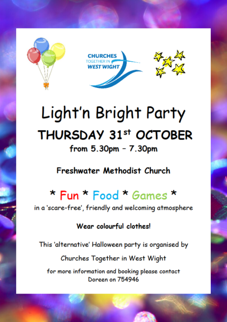 Light 'n Bright Party @ Freshwater Methodist Church