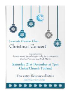 Camerata Chamber Choir at Christmas